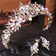 bridal crowns pearl bridal crowns handmade tiara headband wedding