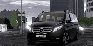 mercedes city car city car driving topic 2016 mercedes v class 1 5 4 1 2