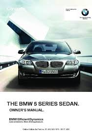 2012 bmw 5 series owners manual just give me the damn manual