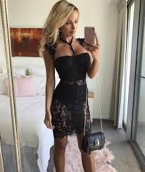 cheyenne black lace mini dress u2013 catwalk connection