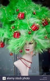christmas tree in shop window stock photos u0026 christmas tree in