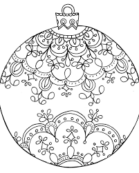 christmas ornament drawing at getdrawings com free for personal