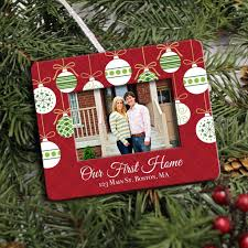 photo frame christmas ornament personalized housewarming