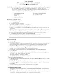 Skills For A Job Resume by 100 A Resume Format For A Job How To Write A Job