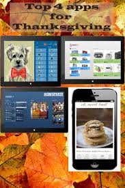 top 4 apps for thanksgiving oh sweet basil