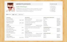 Freelance Web Designer Resume Sample by Freelancer Resume U0026 Portfolio Bootstrap Portfolio And Resume