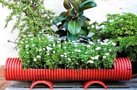 Recycling Garden Ideas Recycled Planters Gardening Herbs Bike Planter Recycled Garden