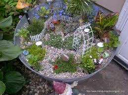outdoor fairy garden ideas