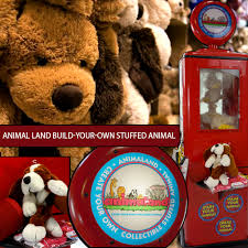build your own teddy animal land build your own stuffed animal equipment rental in