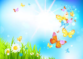 spring butterflies background gallery yopriceville high