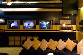 basement u0027s tv room photos an in depth tour of graceland on the