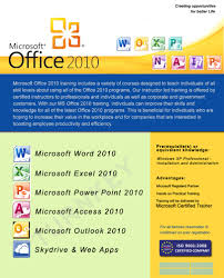ms office turnkey it training