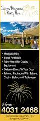 Wedding Arches Hire Cairns Cairns Marquee U0026 Party Hire Party Equipment Hire 16 10 12