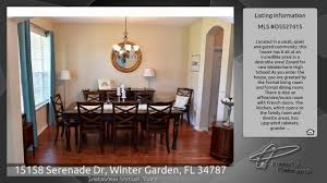 15158 serenade dr winter garden fl 34787 youtube