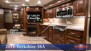 2016 forest river berkshire 38a class a motorhome tour at