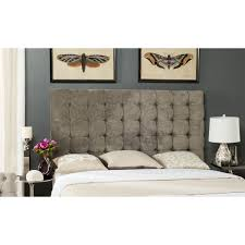 Velvet King Headboard Safavieh Lamar Tufted Velvet King Size Headboard Center Stage