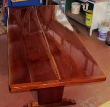 Cedar Table Top by Artisan Cedar Red Cedar Furniture Townsville