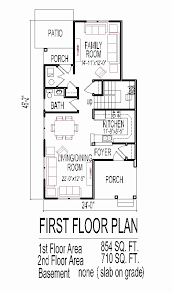one floor home plans home plans for narrow lots make this a one story house