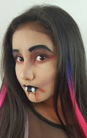 vampire halloween makeup tutorials for creepy halloween look a