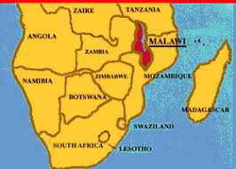 africa map malawi lesson plan map of southern africa and malawi