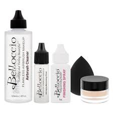 Halloween Airbrush Makeup Kit by Amazon Com Belloccio Professional Beauty Airbrush Cosmetic