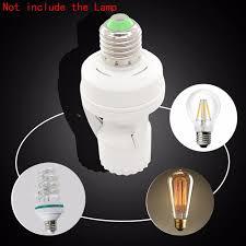 light sensor light bulbs led bulb pbt light bulb holder 220v e27 led pir infrared
