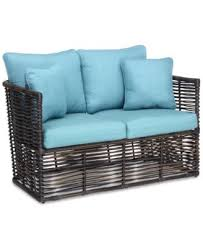 wicker outdoor sofa closeout bahiya wicker outdoor coffee table created for macy u0027s