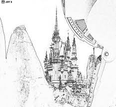 12 images of walt disney castle coloring pages disney world