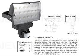 outdoor 28w pir infrared motion sensor led flood lighting outdoor