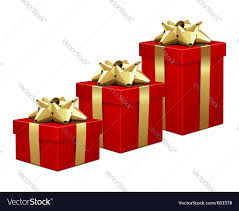 christmas boxes christmas gift boxes royalty free vector image
