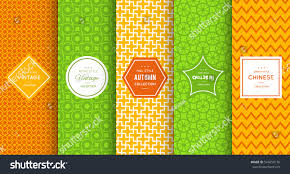 green repeating halloween background bright retro seamless pattern background vector stock vector