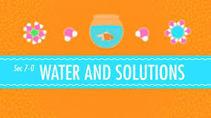 water and solutions for dirty laundry crash course chemistry