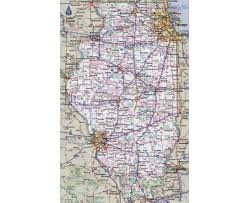 Illinois City Map by Maps Of Illinois State Collection Of Detailed Maps Of Illinois