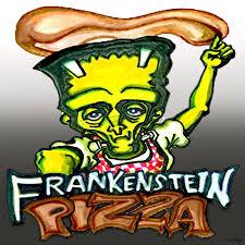 Frankenstein Shower Curtain by Frankenstein Pizza Or The Modern Prometheus U0027s Pasta Digital Art By