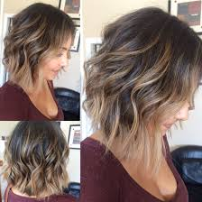 Easy Hairstyles For Medium Layered Hair by Balayage Highlights With Medium Bob Haircut What I Love To Do