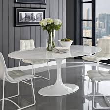 saarinen style 78 u0027 u0027 oval marble tulip table multiple colors