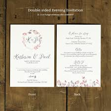 sts for wedding invitations summer meadow wedding invitation feel wedding invitations
