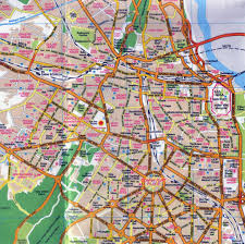 Map Of Central Asia Road Map Of Central Part Of Delhi City Delhi India Asia