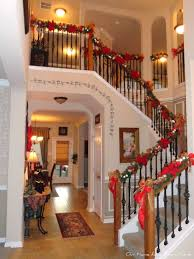 Banister Christmas Garland Our Home Away From Home Dollar Tree Christmas Garland