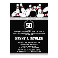 bowling ball pins surprise funny birthday party custom