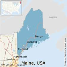 best places to live in maine state
