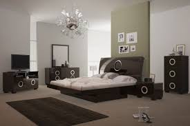 Wenge Bedroom Furniture Modern Wenge Monte Carlo 5pc Bedroom Set Slick Furniture