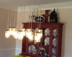 mason jar chandeliers industrial lighting by ironlumberandlight