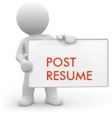 Resume Posting Sites Post Resume Resume Example