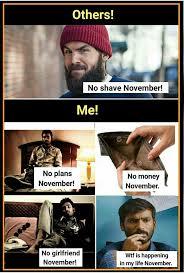 No Shave November Meme - the best november memes memedroid