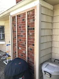 Remove Brick Fireplace by Brick Fireplace U0026 Chimney Removal In Bowie Md