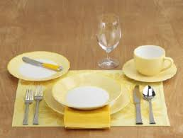 how to set a table table settings kitchens and tea