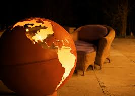 Fire Pit Globe by Fire Pit Art
