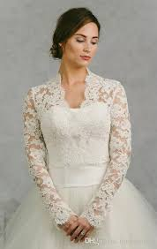 plus size wedding dresses with sleeves or jackets sale 2018 bridal wraps sleeves bridal coat lace jackets