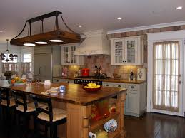 awesome rustic kitchen island light fixtures kitchen island lights